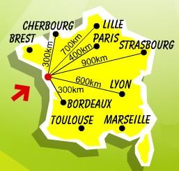 Carte de France Home