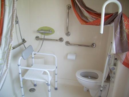 Les sanitaires adaptés