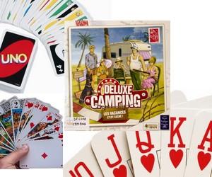 Jeux de societe et de carte pour le camping