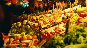 Manger des produits du marché
