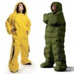 sac de couchage humain