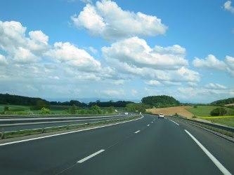 autoroute vide